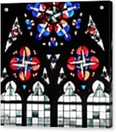 Mainz Cathedral Window Acrylic Print