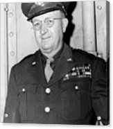 Maj. Gen. Manton Eddy. May 25, 1945. Acrylic Print