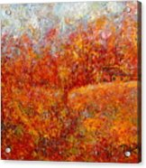 Majestic Autumn Acrylic Print
