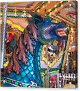 Majestic Blue Horse Acrylic Print