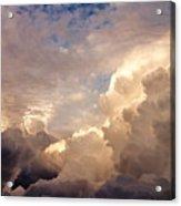 Majestic Clouds Acrylic Print