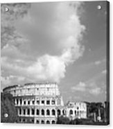 Majestic Colosseum Acrylic Print by Stefano Senise
