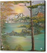 Majestic Cove Acrylic Print