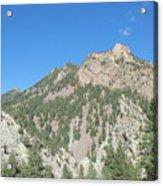 Majestic Eldorado Mountain Acrylic Print