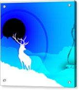 Majestic Elk Warmridge Acrylic Print