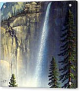 Majestic Falls Acrylic Print