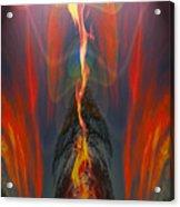 Majestic Fire Acrylic Print