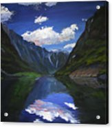 Majestic Fjords Acrylic Print