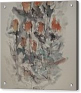 Majestic Floral Gg Acrylic Print
