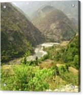 Majestic Himalayas Acrylic Print