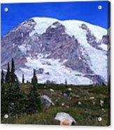 Majestic Mount Rainier Acrylic Print