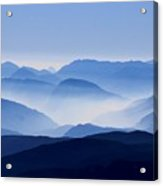 Majestic Mountains Acrylic Print