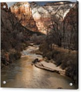 Majestic Mountains-zion Acrylic Print