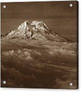 Majestic Mt. Rainier Acrylic Print