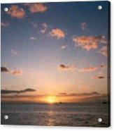 Majestic Ocean Sunset Acrylic Print
