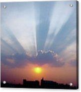 Majestic Rays Acrylic Print