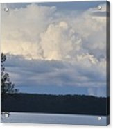 Majestic Storm Clouds  Acrylic Print