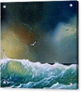 Majestic Wave Acrylic Print