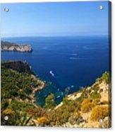 Majorca Spain Panorama Acrylic Print