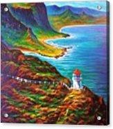 Makapuu Point Lighthouse Acrylic Print