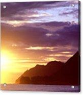 Makapuu Point Sunrise Acrylic Print