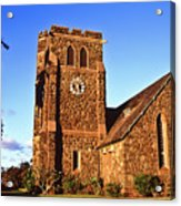 Maui Hawaii Makawao Union Church II Acrylic Print