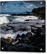 Makuu Cliffs Acrylic Print