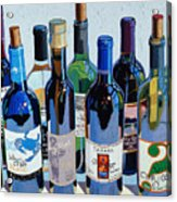 Make Mine Virginia Wine Number Three Acrylic Print by Christopher Mize