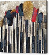 Make Up Brush Acrylic Print