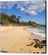 Makena Beach Acrylic Print