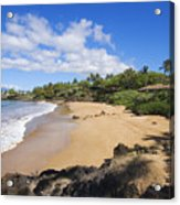 Makena, Changs Beach Acrylic Print
