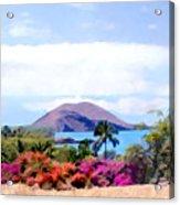 Makena Maui Acrylic Print