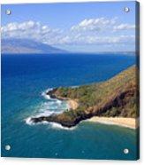 Makena, Maui Acrylic Print