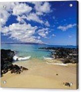 Makena, Secret Beach Acrylic Print