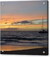 Makena Sunset Acrylic Print