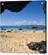 Makena View From Secret Beach Acrylic Print