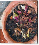 Making Compost Out Of Garbage Acrylic Print