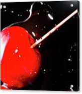 Making Homemade Sticky Toffee Apples Acrylic Print