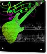 Making Music Acrylic Print