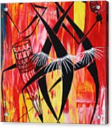 Makonde Dance Series Acrylic Print