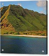 Makua, Oahu Acrylic Print