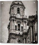 Malaga Cathedral Acrylic Print