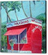 Malasada Stand Acrylic Print