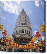 Malaysian Temple Acrylic Print