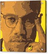 Malcolm El Afroxicano Acrylic Print