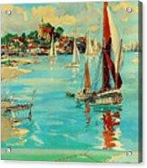 Maldon, England, Sailing Boats Acrylic Print