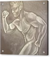 Male Beauty Acrylic Print