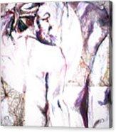 Male Female Nude   Acrylic Print
