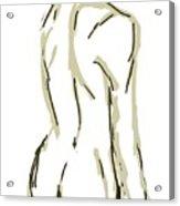 Male Nude 1 Acrylic Print