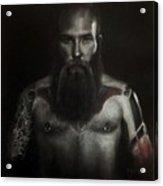 Male Nude 12. Nigel Acrylic Print